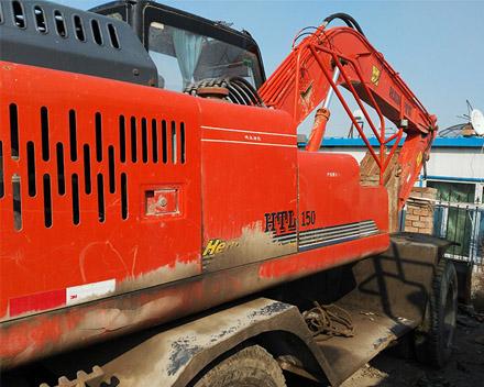 新疆轮式挖掘机维修